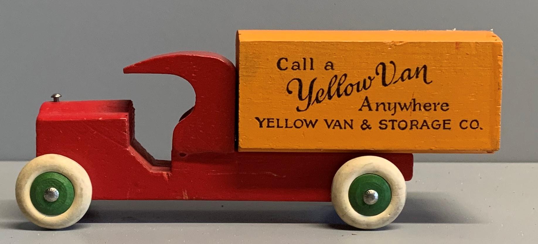Strombecker Yellow Van