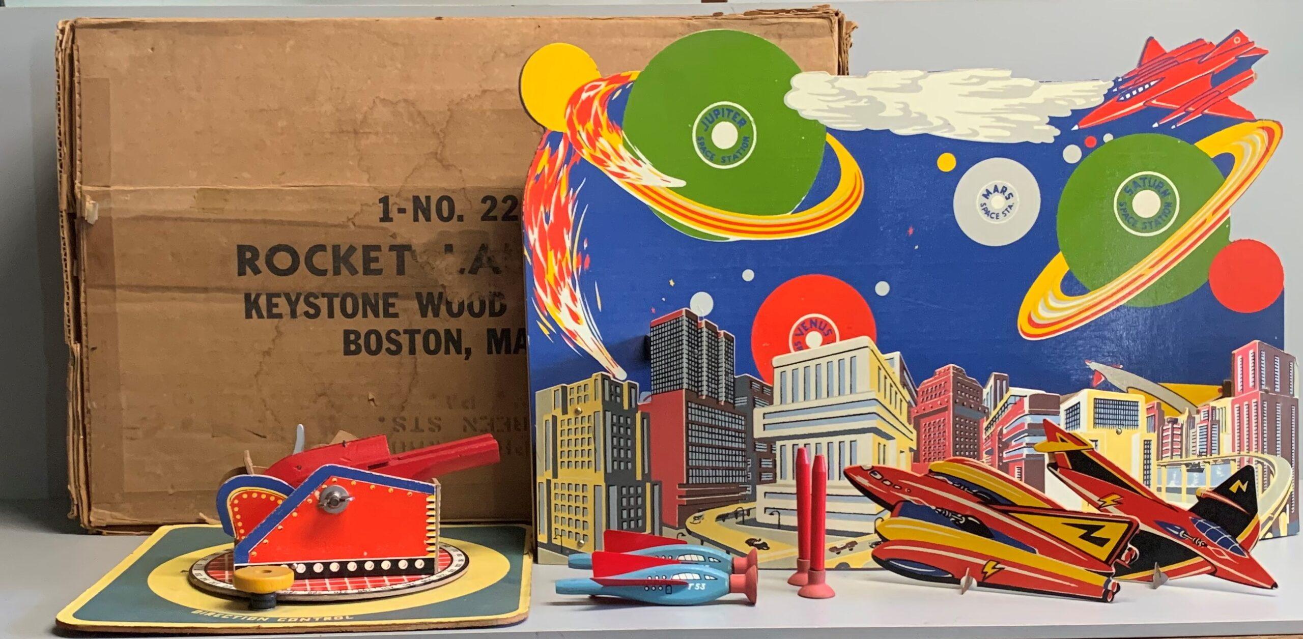 Keystone Wood Toys Rocket Launch #221