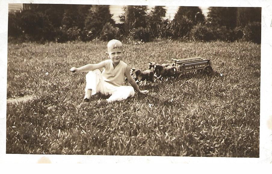 Boy With Jacrim Wagon