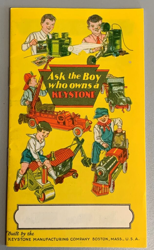 Circa 1925 Keystone Catalog