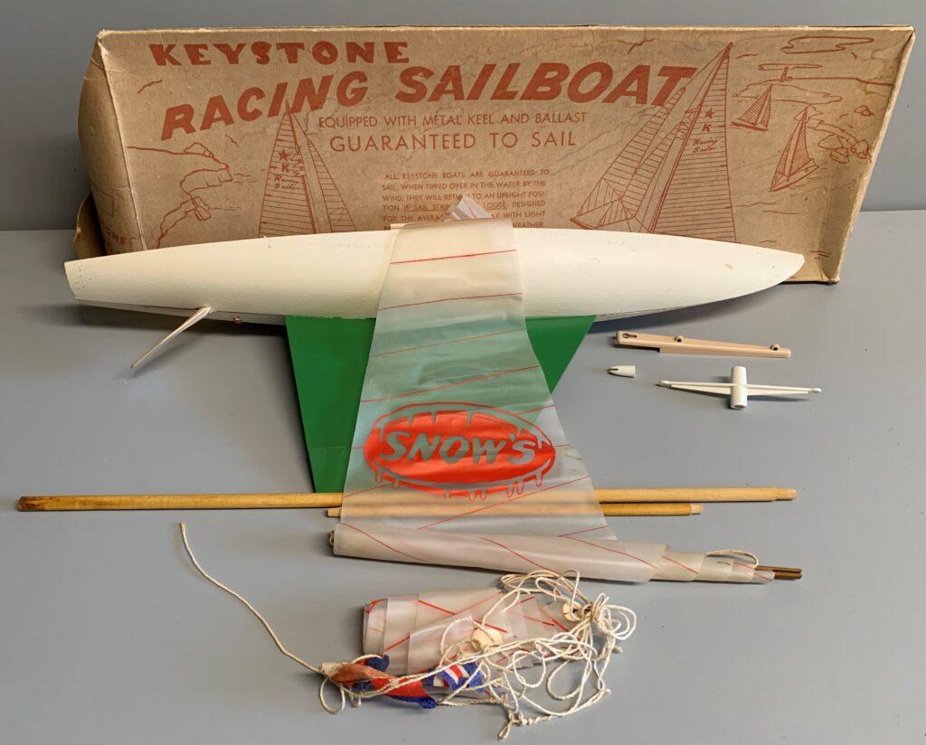 Snow's Logo Sailboat