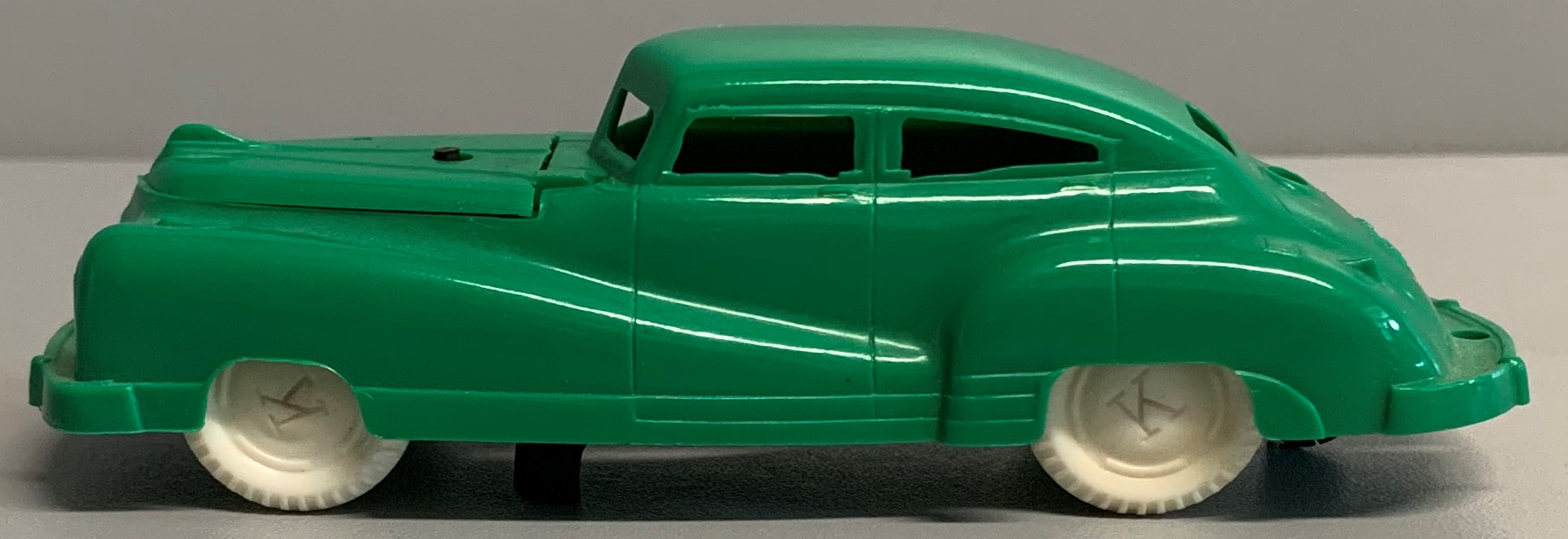 Keystone Green Plastic Car