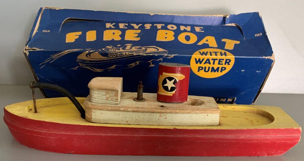 Keystone Wood Toys #353 Fireboat